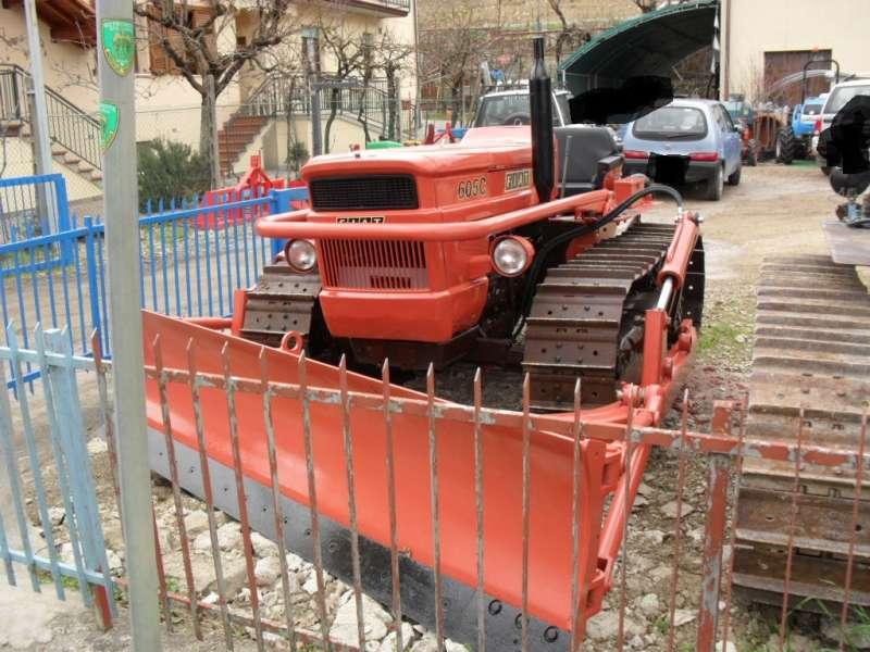 trattore fiat 605